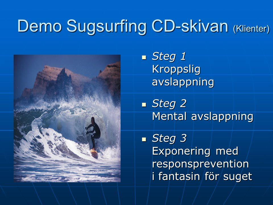 Demo Sugsurfing CD-skivan (Klienter)