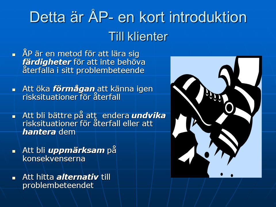 Detta är ÅP- en kort introduktion Till klienter