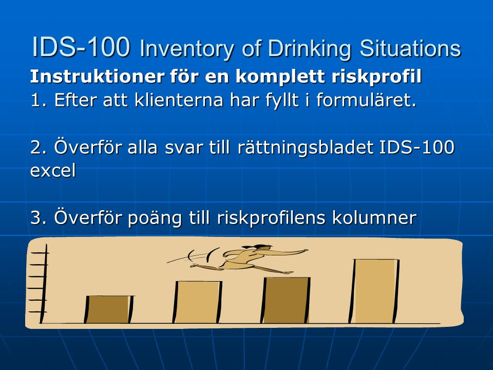 IDS-100 Inventory of Drinking Situations
