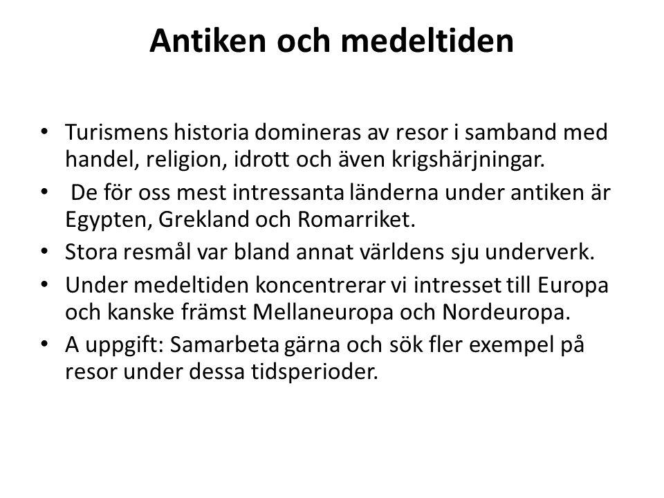 Antiken och medeltiden