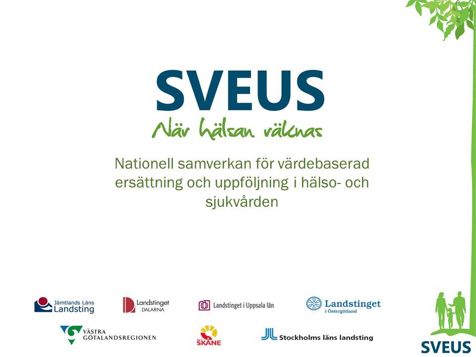 Nationell samverkan för värdebaserad ersättning och uppföljning i hälso- och sjukvården