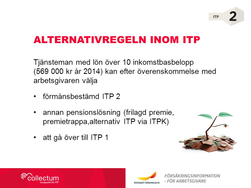 Alternativregeln inom ITP