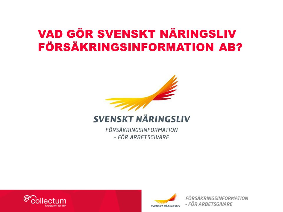 Vad gör svenskt näringsliv försäkringsinformation ab
