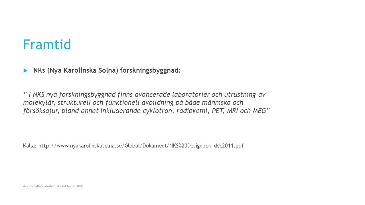 Framtid NKs (Nya Karolinska Solna) forskningsbyggnad: