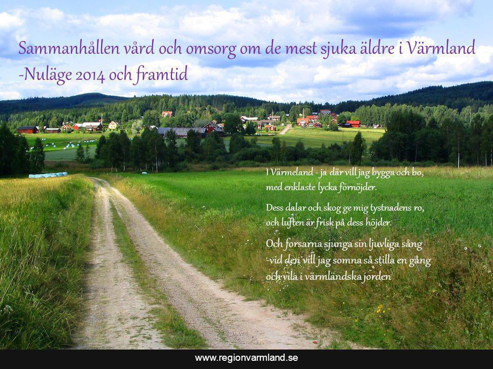 Sammanhållen vård och omsorg om de mest sjuka äldre i Värmland