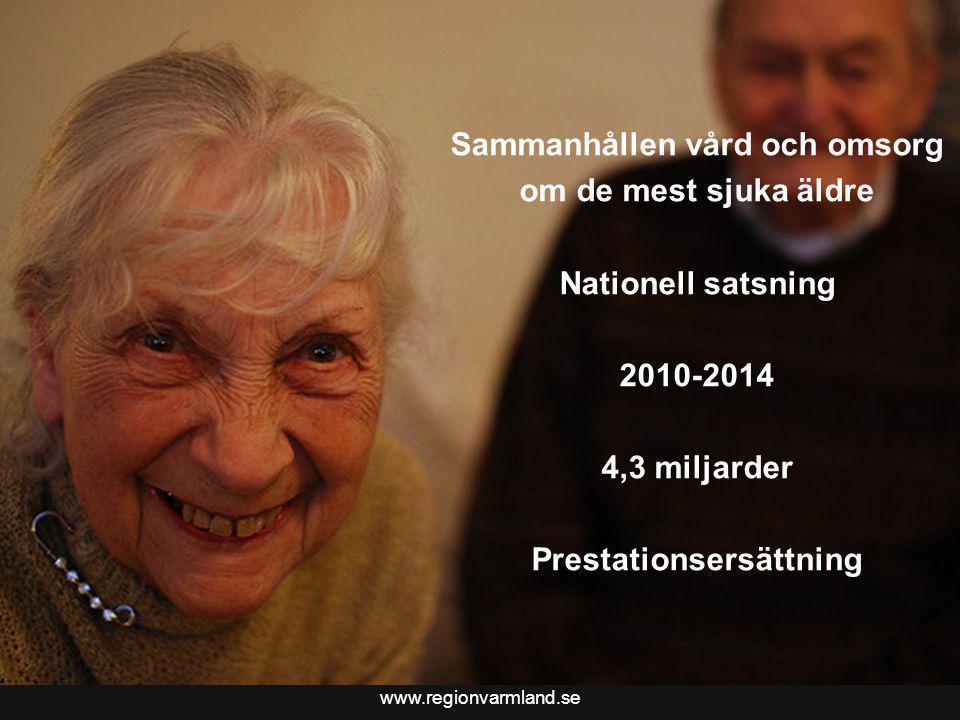 Bättre liv för sjuka äldre i Värmland