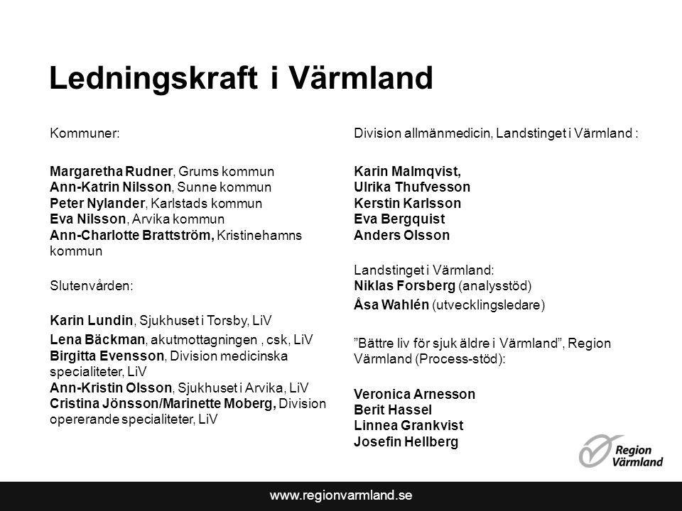 Ledningskraft i Värmland