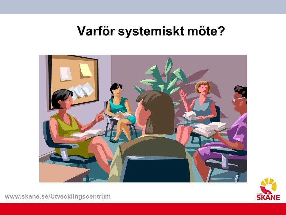 Varför systemiskt möte