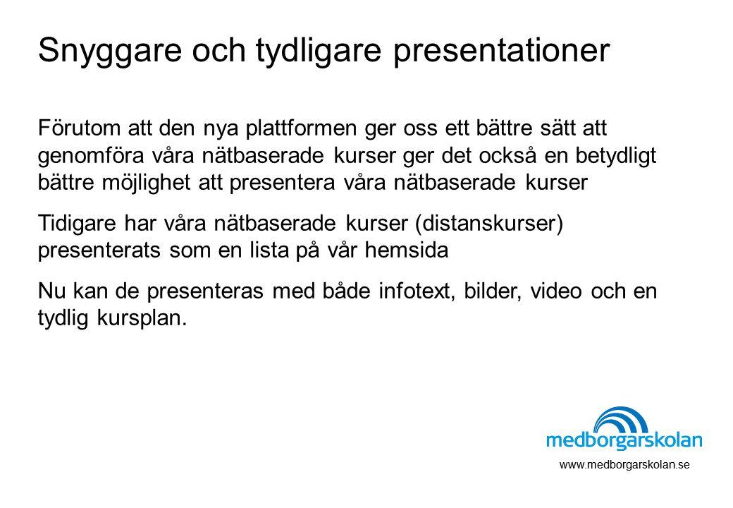 Snyggare och tydligare presentationer