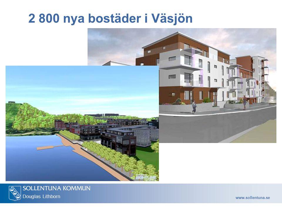 2 800 nya bostäder i Väsjön