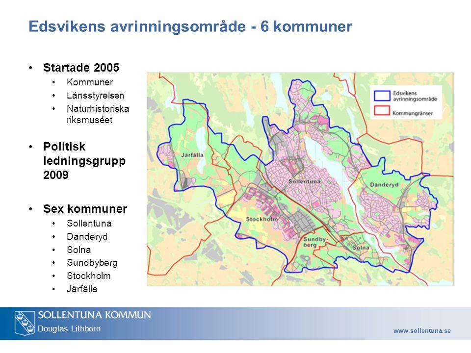 Edsvikens avrinningsområde - 6 kommuner