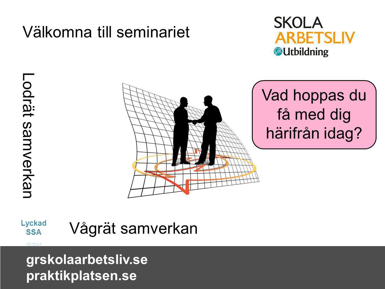 Välkomna till seminariet