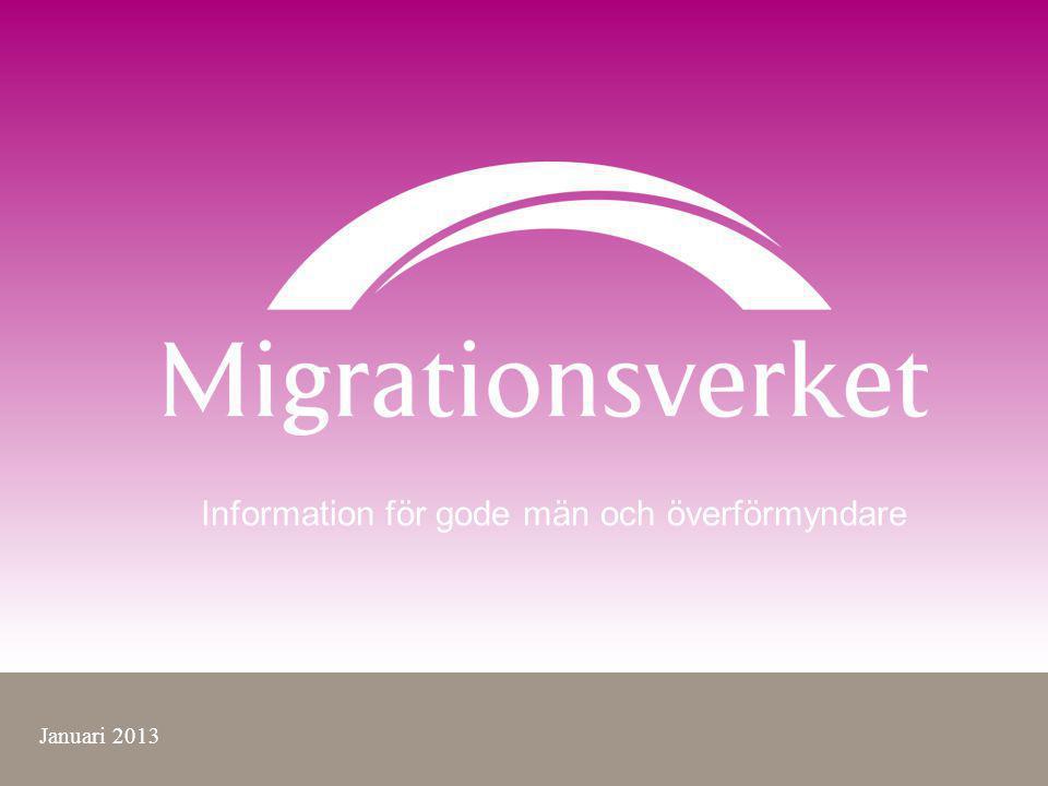 Information för gode män och överförmyndare