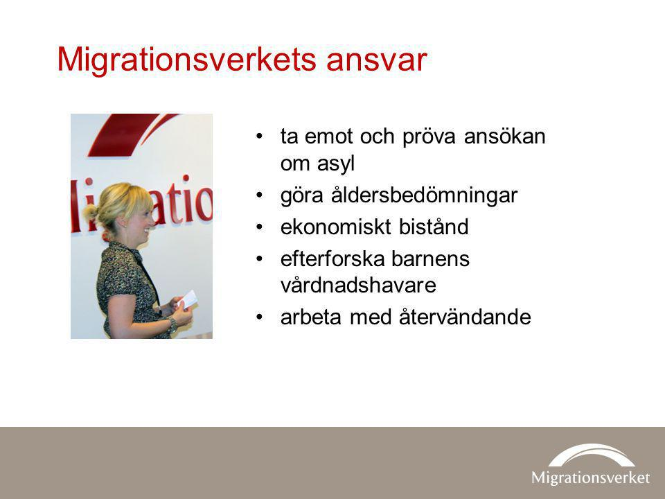 Migrationsverkets ansvar