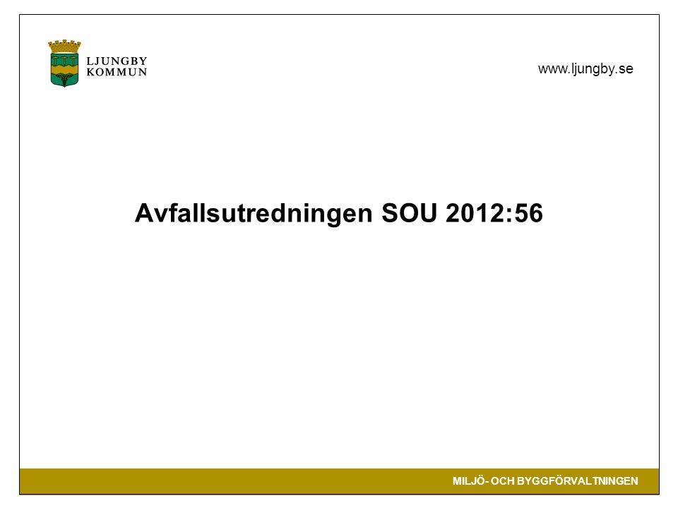 Avfallsutredningen SOU 2012:56