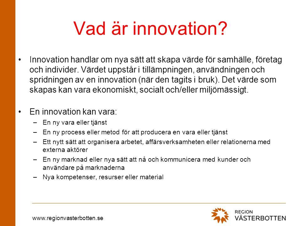 Vad är innovation