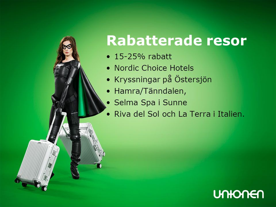 Rabatterade resor 15-25% rabatt Nordic Choice Hotels