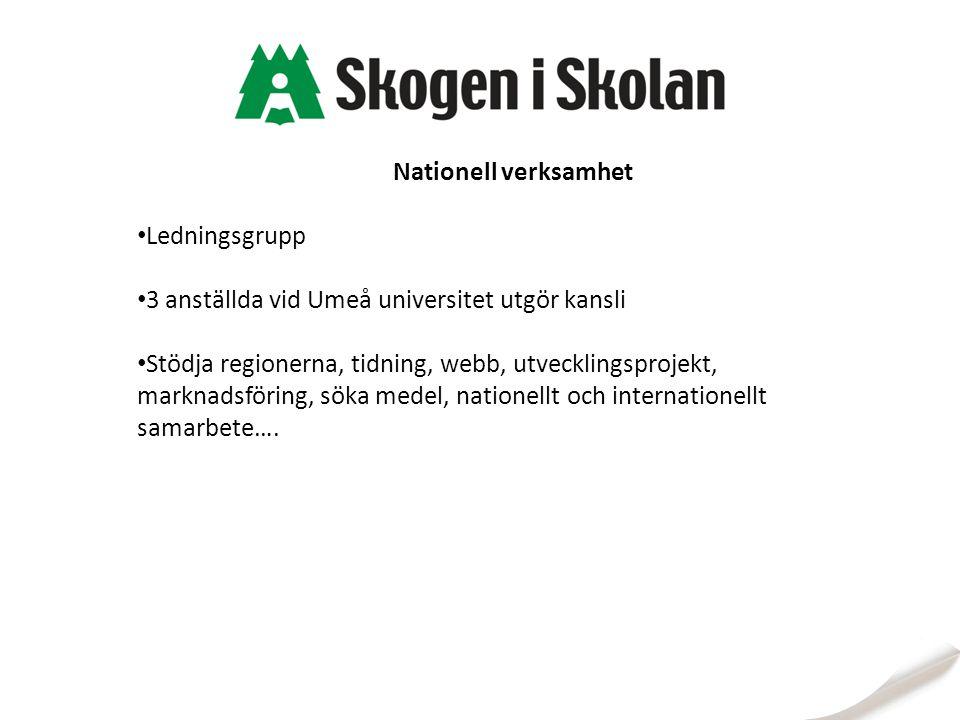 3 anställda vid Umeå universitet utgör kansli