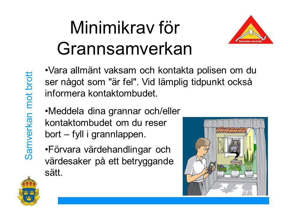 Minimikrav för Grannsamverkan