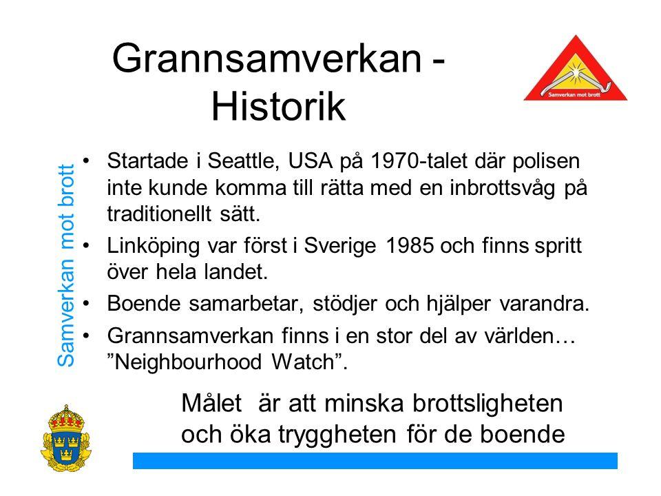 Grannsamverkan - Historik