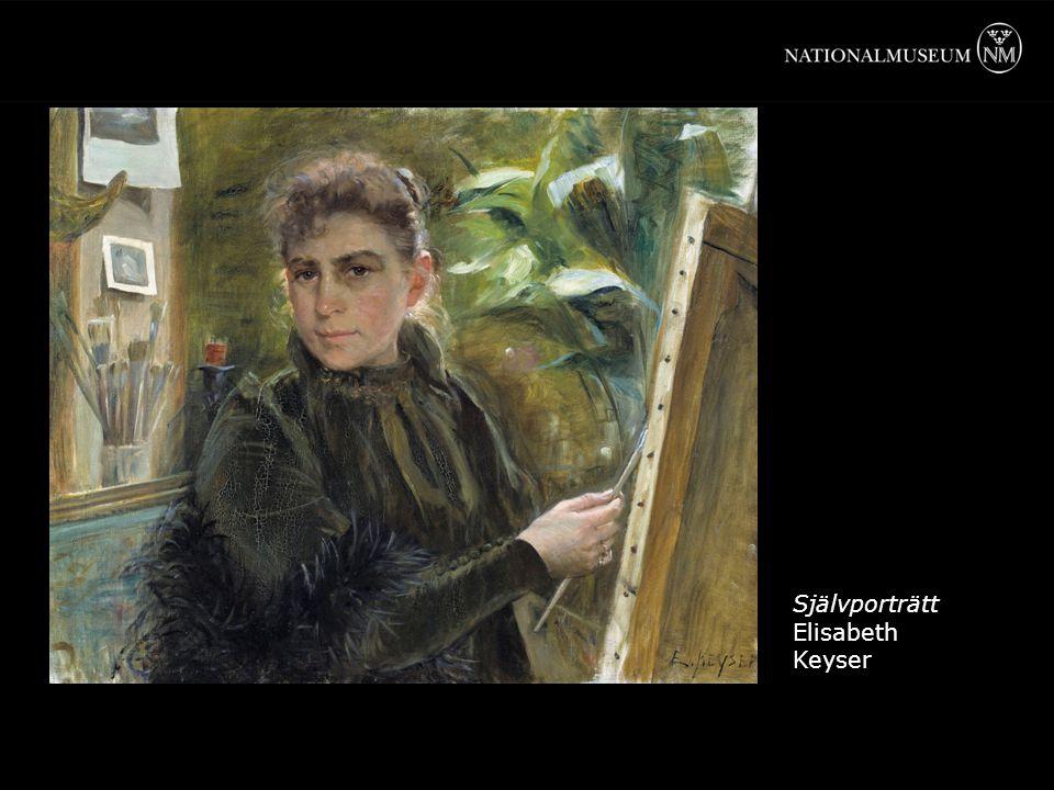 Självporträtt Elisabeth Keyser