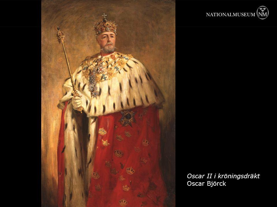 Oscar II i kröningsdräkt