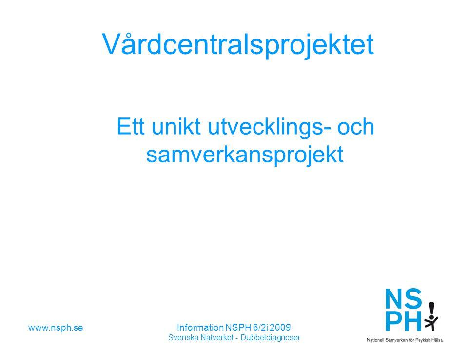 Vårdcentralsprojektet