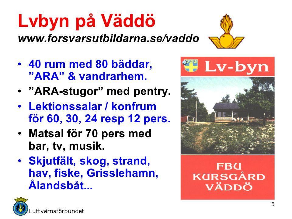 Lvbyn på Väddö www.forsvarsutbildarna.se/vaddo