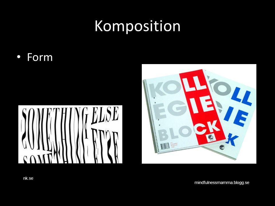 Komposition Form.