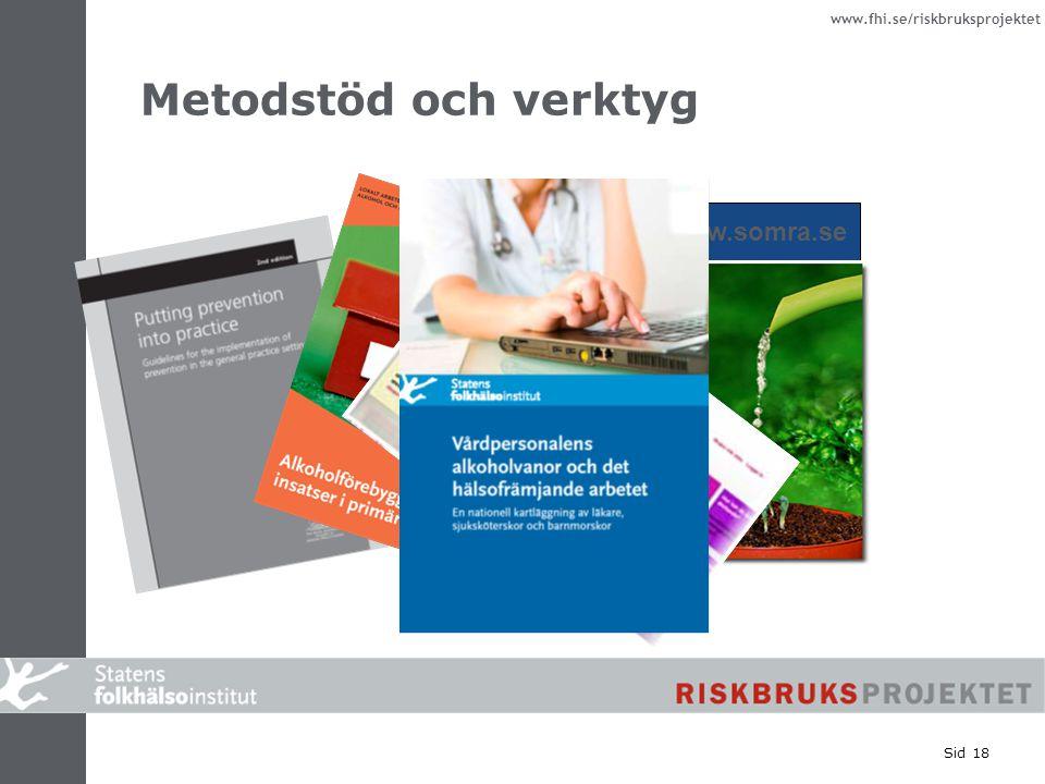 Metodstöd och verktyg www.somra.se