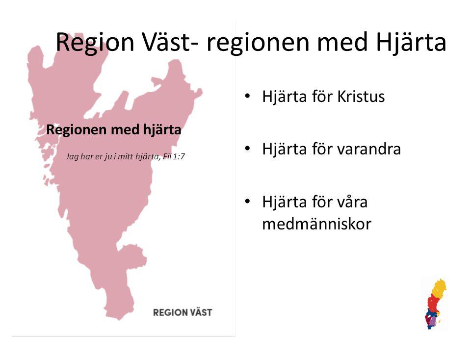 Region Väst- regionen med Hjärta