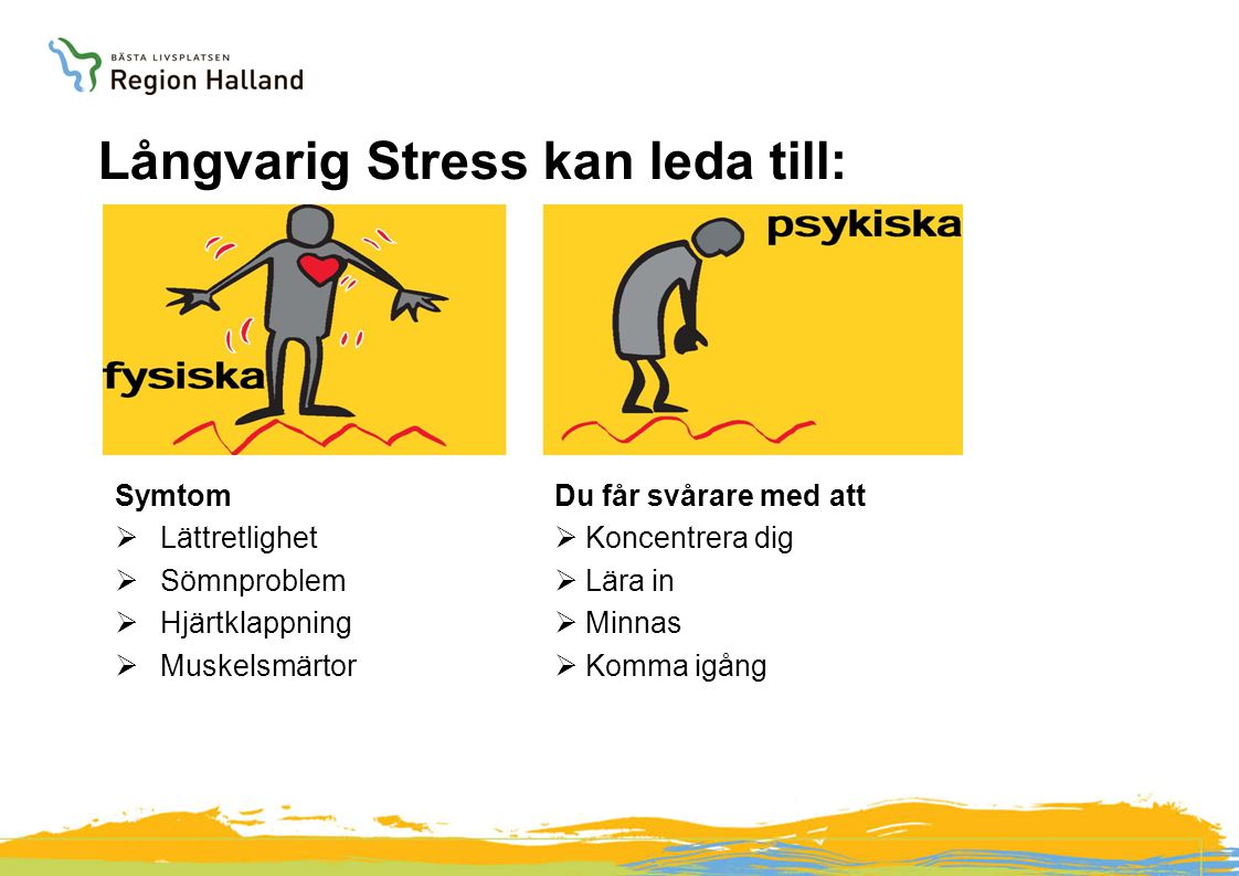 Långvarig Stress kan leda till: