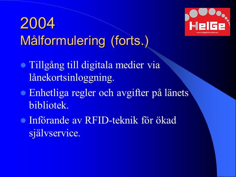 2004 Målformulering (forts.)