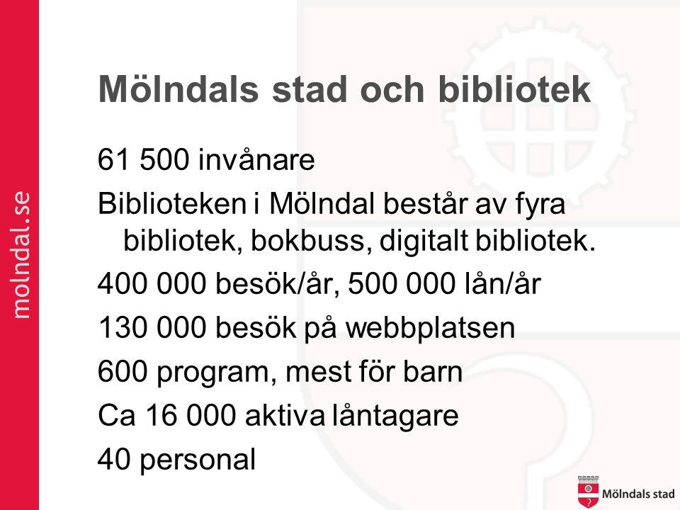 Mölndals stad och bibliotek