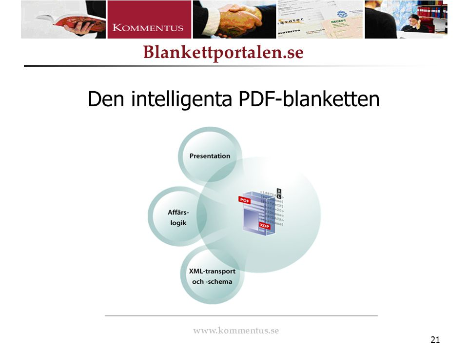 Den intelligenta PDF-blanketten