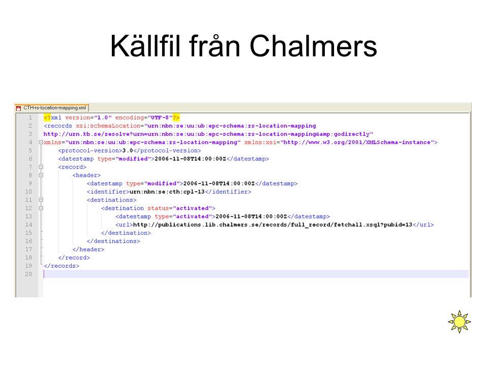 Källfil från Chalmers