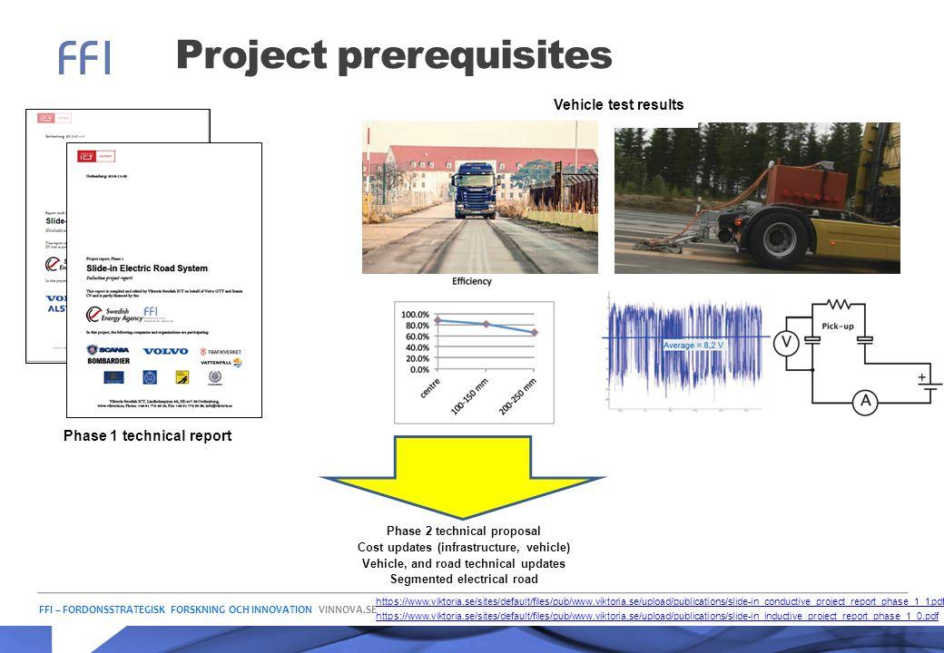 Project prerequisites