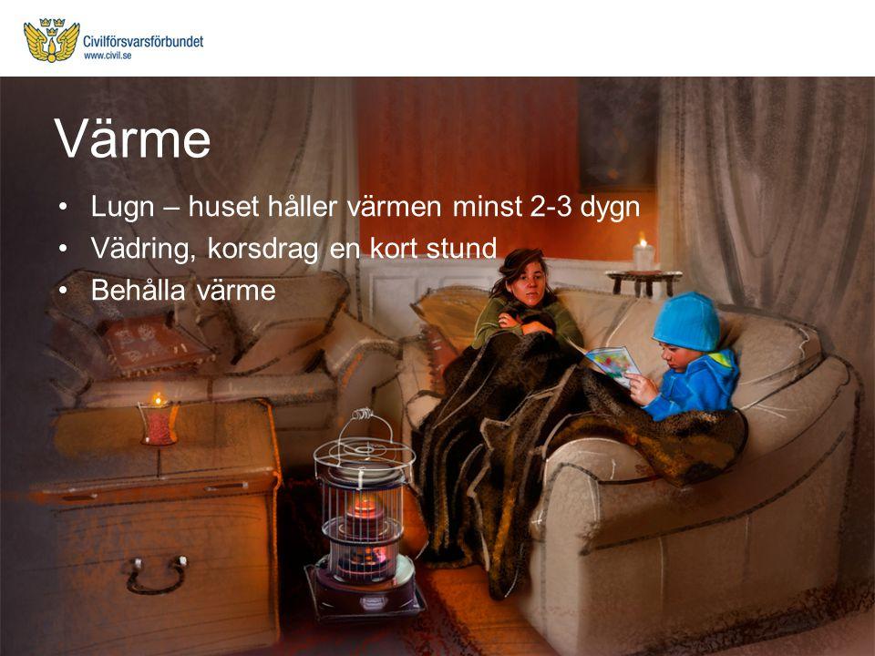 Värme Lugn – huset håller värmen minst 2-3 dygn