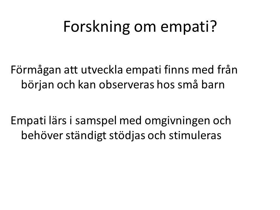 Forskning om empati