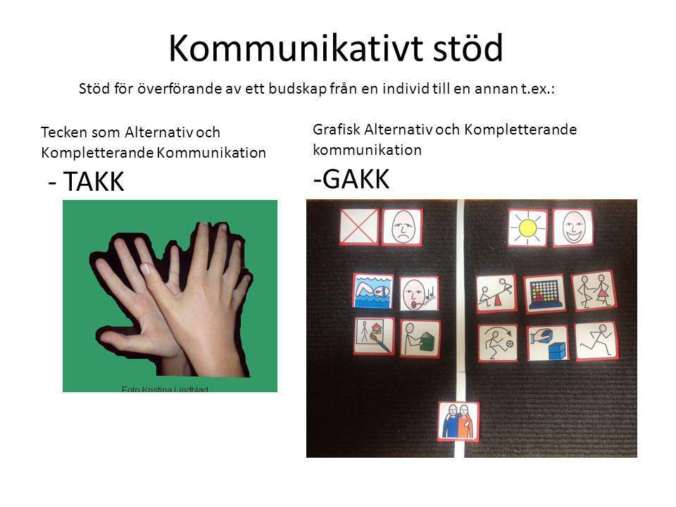 Kommunikativt stöd -GAKK