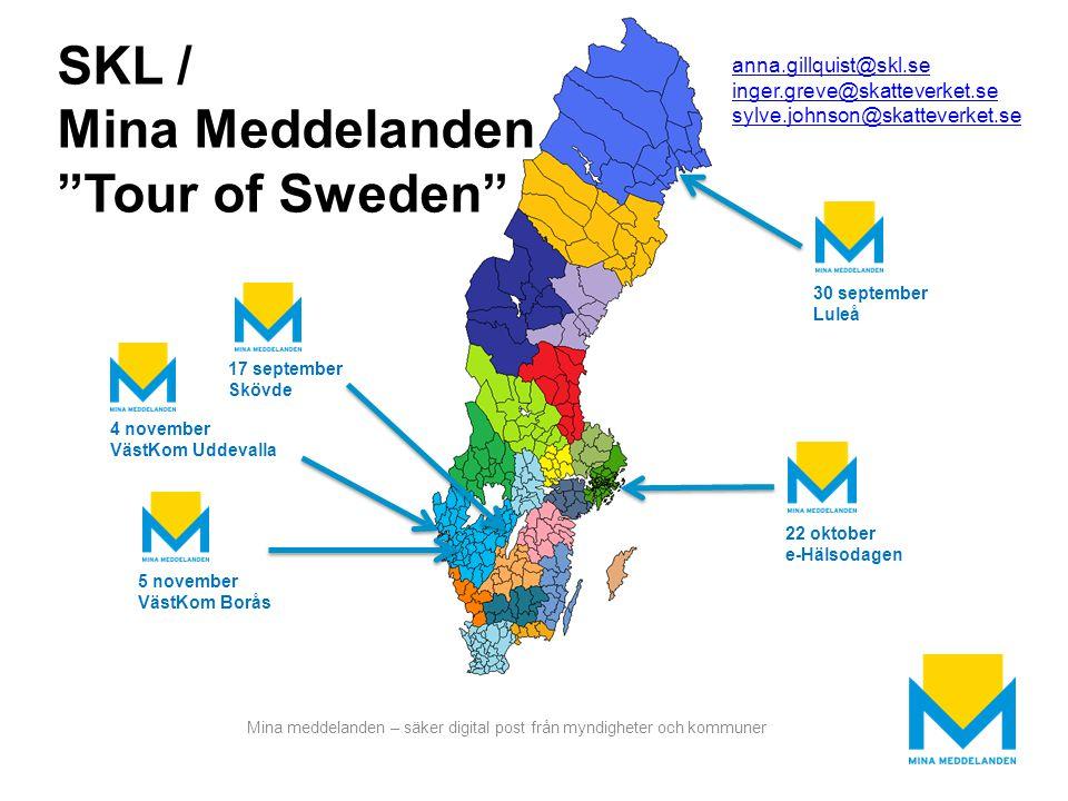 SKL / Mina Meddelanden Tour of Sweden