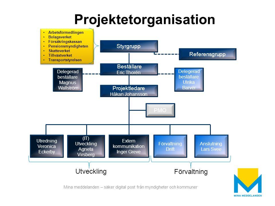 Projektetorganisation