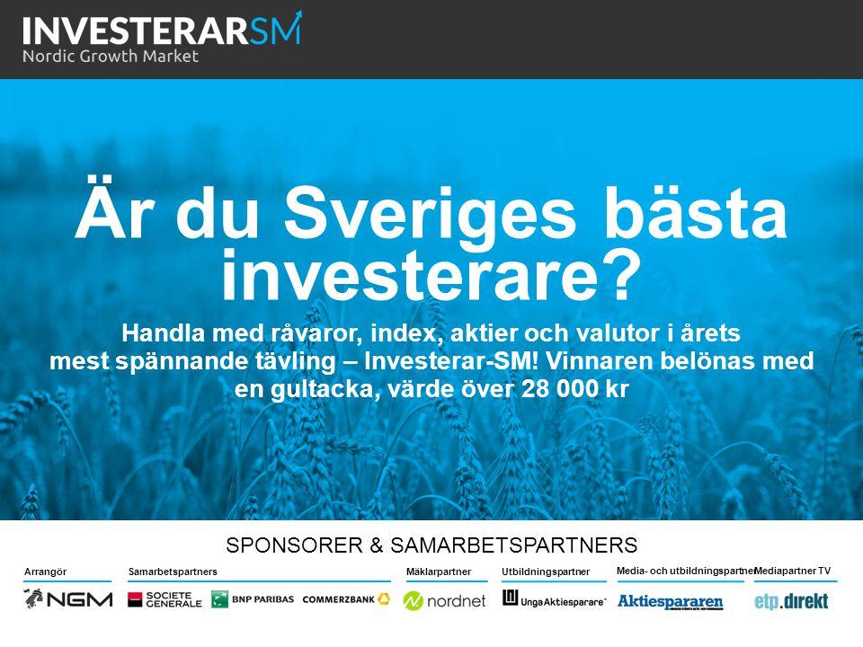 Är du Sveriges bästa investerare
