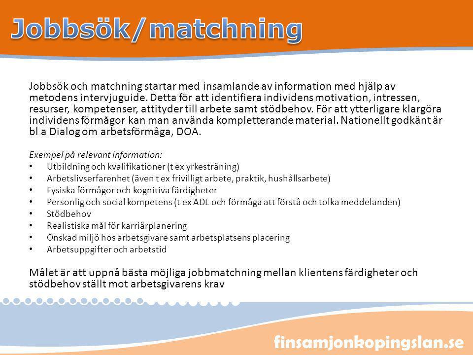Jobbsök/matchning finsamjonkopingslan.se