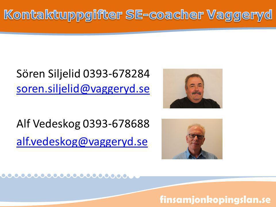 Kontaktuppgifter SE-coacher Vaggeryd