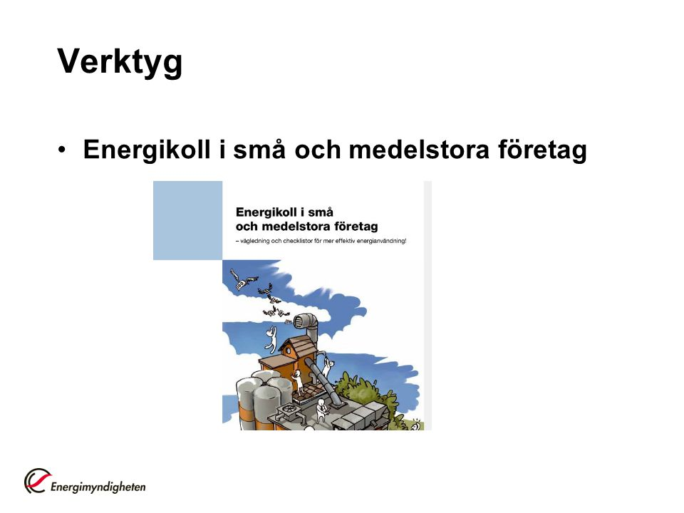 Verktyg Energikoll i små och medelstora företag