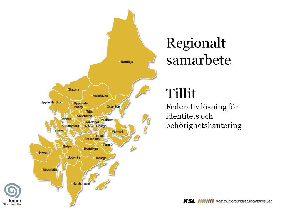 Regionalt samarbete Tillit