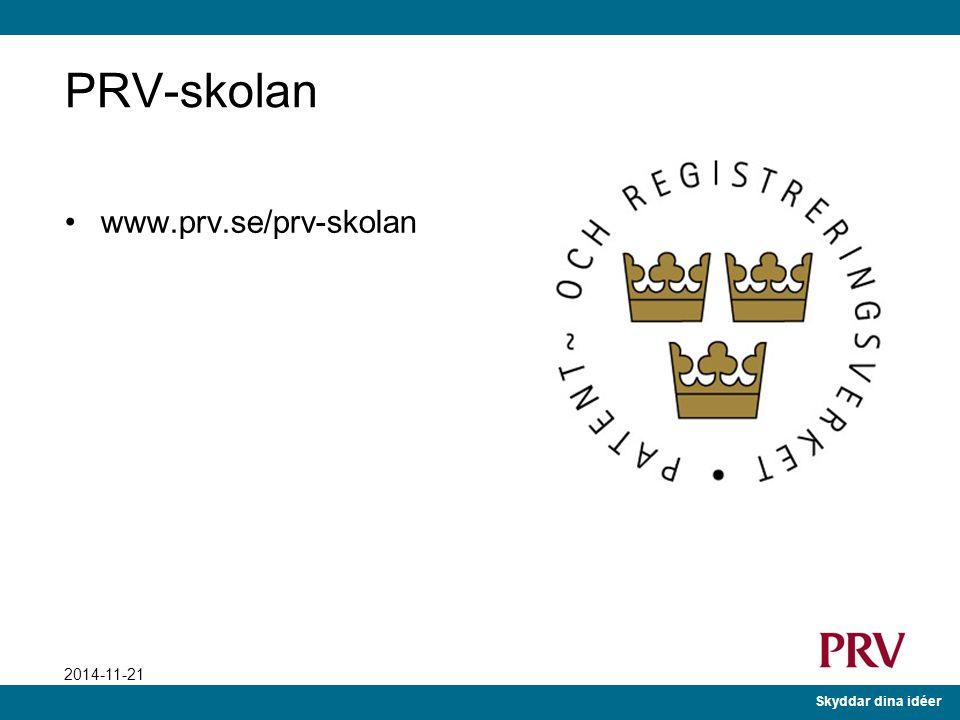 PRV-skolan www.prv.se/prv-skolan