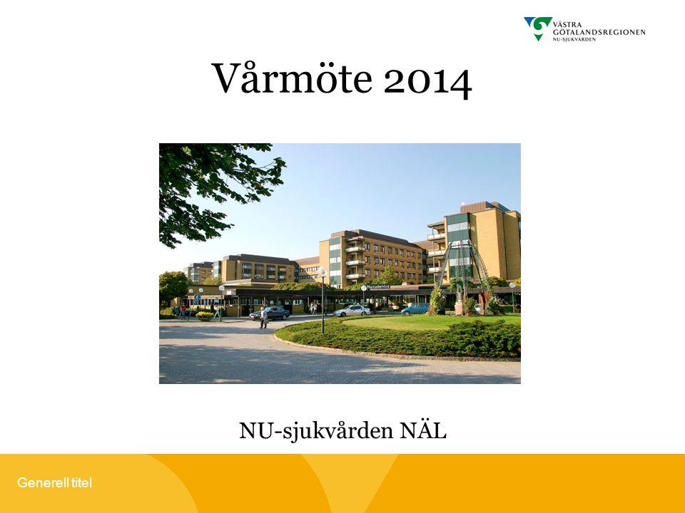Vårmöte 2014 NU-sjukvården NÄL