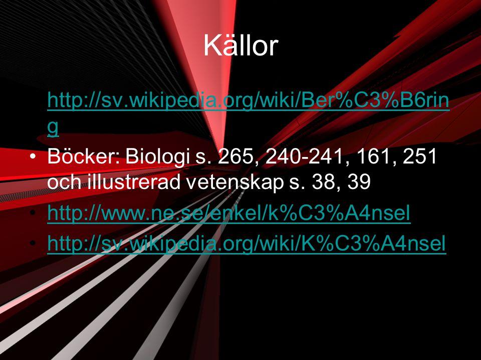Källor http://sv.wikipedia.org/wiki/Ber%C3%B6ring